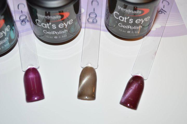 cat eye lacke von trendnails uv gel. Black Bedroom Furniture Sets. Home Design Ideas