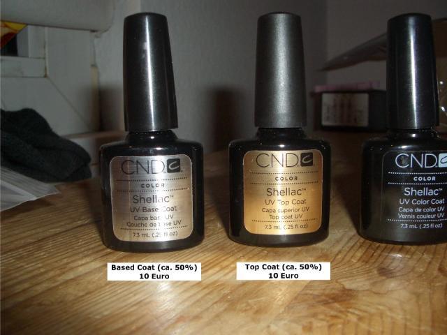 cnd shellac set 6 farben sind noch da nagellack l. Black Bedroom Furniture Sets. Home Design Ideas