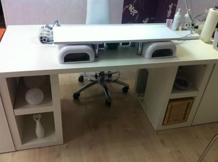 nageltisch mit absaugung nageltische. Black Bedroom Furniture Sets. Home Design Ideas